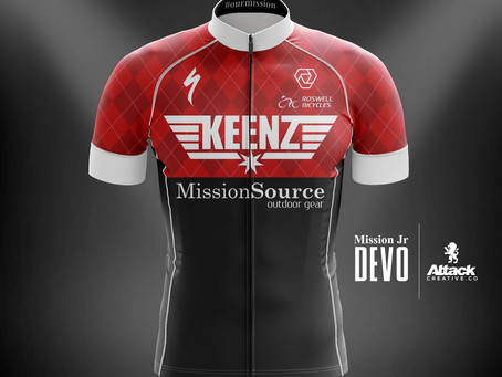 New Jersey design for Team Mission Devo Juniors to hit the streets very soon!