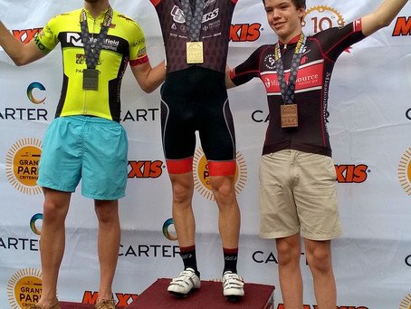 Michael Garrison takes 3rd in cat. 3 Grant Park Crit!