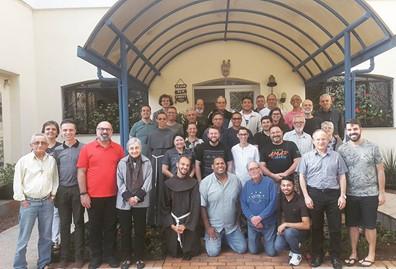 Participantes do XIV Encontro de compositores da CNBB.