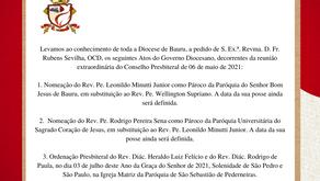 ATOS DO GOVERNO - 06 de maio de 2021