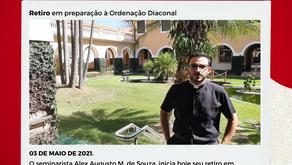 Retiro em preparação à Ordenação Diaconal-03 de maio de 2021