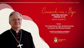 Os Apóstolos são testemunhas oculares da Ressurreição-Dom Frei Caetano Ferrari, O F M
