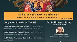 Cerco de Jericó dos Santos Arcanjos 2020 - Capela São Miguel - Paróquia Santa Clara de Bauru.