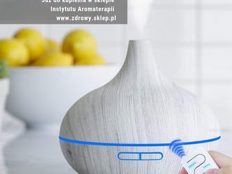 Nowe stylowe ultradźwiękowe dyfuzory do aromaterapii