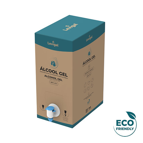 Álcool em Gel 80%  5L