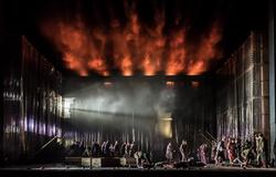 Oedipe, Director: La Fura Dels Baus, The Royal Opera © 2016 ROH. Photograph by Clive Barda
