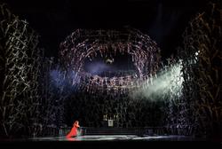 Norma, Director: La Fura Dels Baus, The Royal Opera © 2016 ROH. Photograph by Bill Cooper