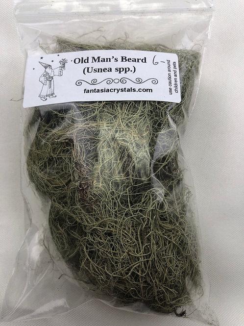 Usnea (Old Man's Beard)