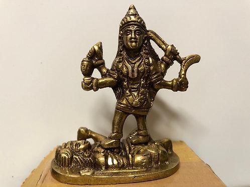 Kali Bronze Mini Statue