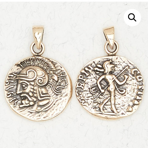 Bronze Ares Pendant