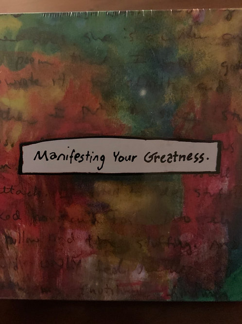 Manifesting Your Greatness Cards