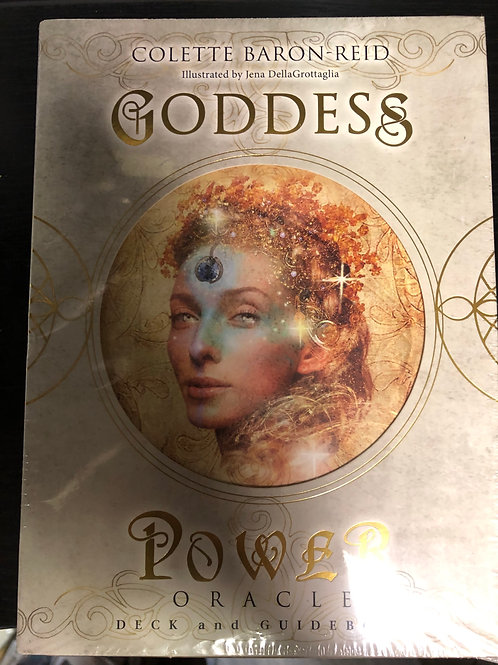 Goddess Power Oracle Card Box Set