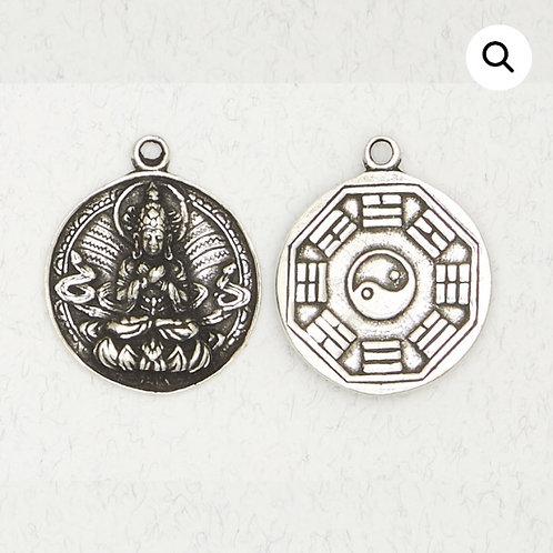Quantum Yin Pendant