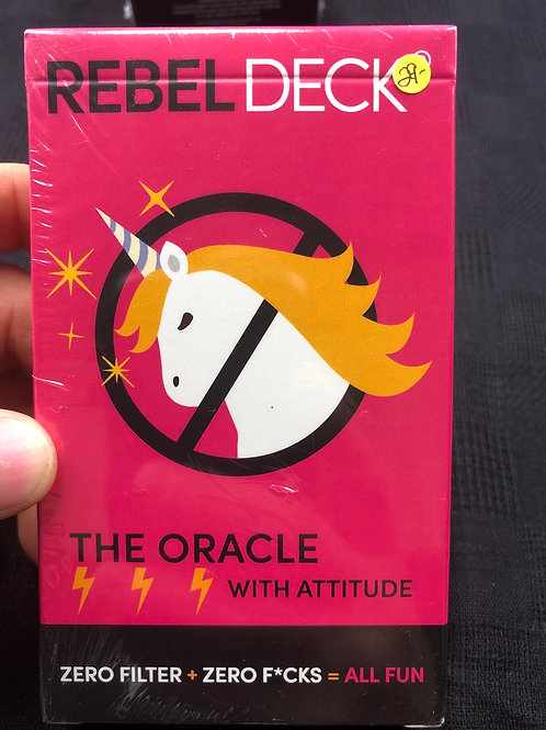 Rebel Oracle Deck (adult themed)