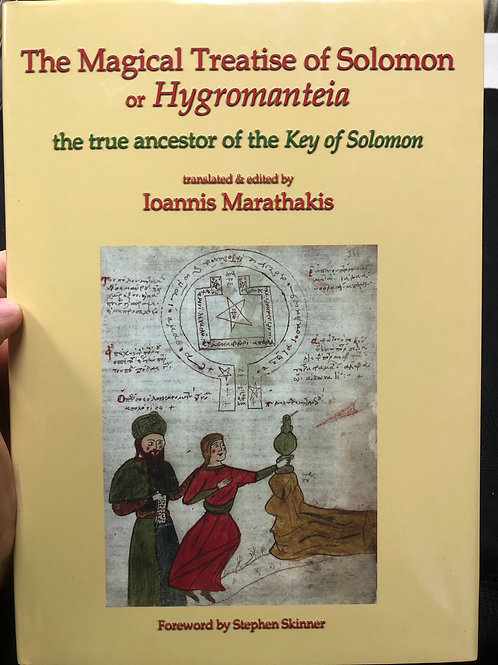 Magick Treatise of Solomon or Hygromanteia