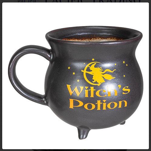 Witch's Potion Cauldron Mug