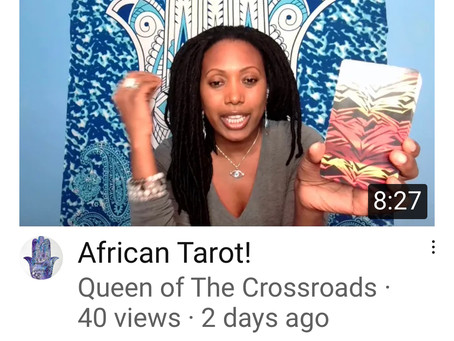 Regina LaLue reviews new African Tarot Deck