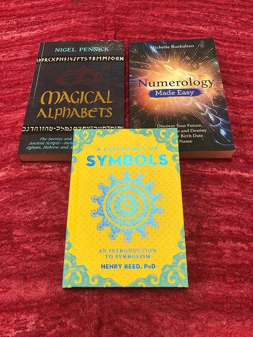 Magick Symbols Book Set