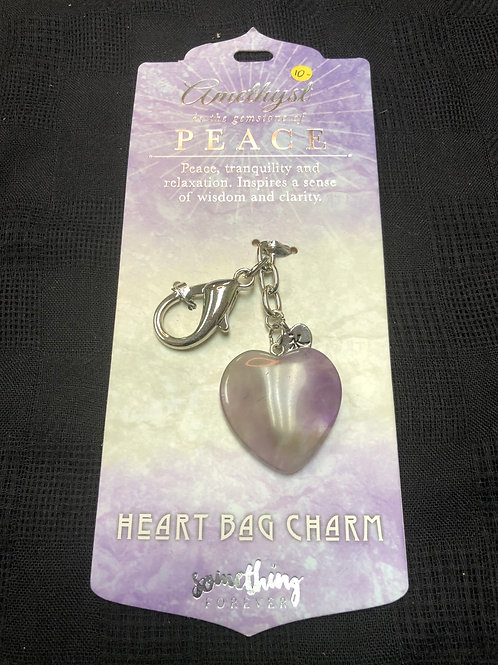 Crystal key Chain- Peace