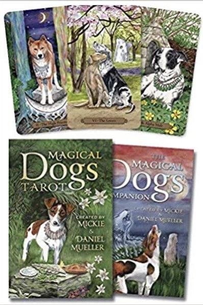 Magical Dogs Tarot Book & Deck Set