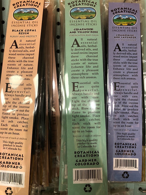Botanical Creations Incense