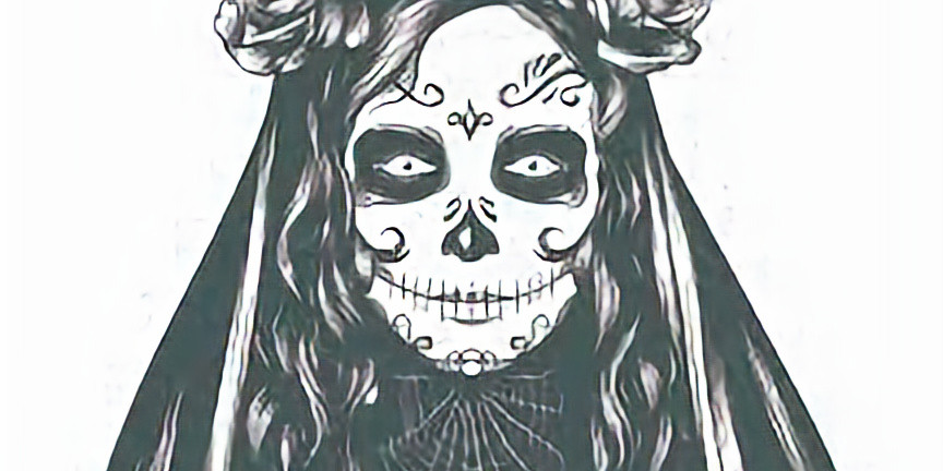 *mask required* Understanding Santa Muerte $30 (cash only, exact change)