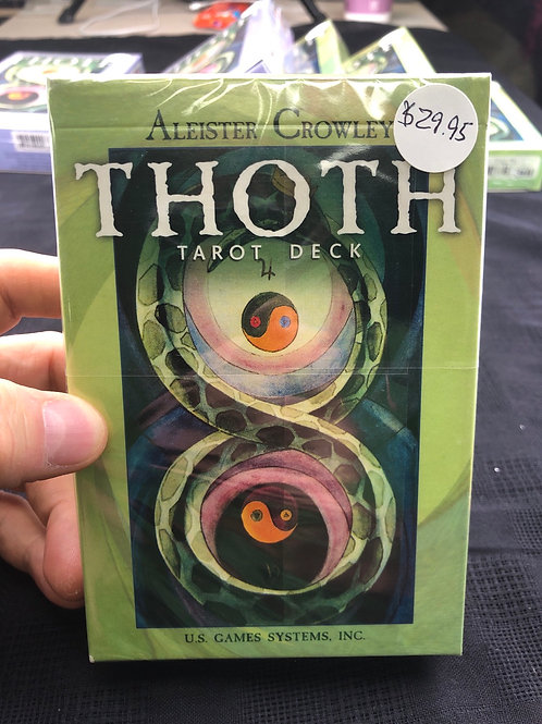 Thoth Tarot (Crowley) large size