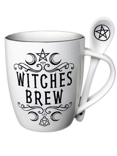 Witches Brew Mug & Spoon
