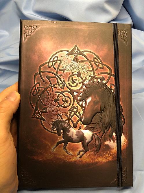Celtic Horse Blank Journal