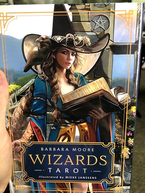 Wizards Tarot (deck & book)