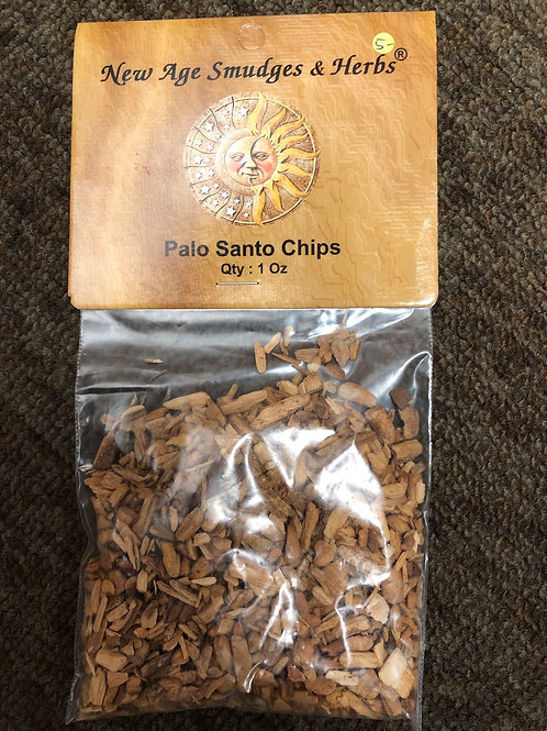 Palo Santo (Holy Wood) Chips