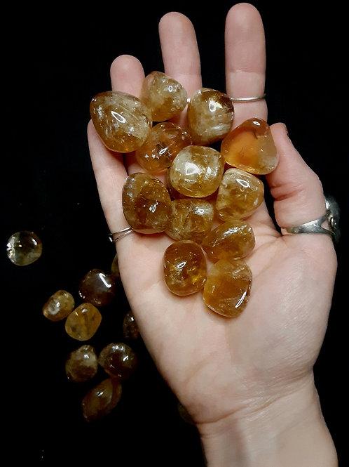 Calcite (honey, tumbled)