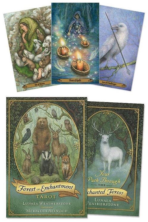 Forest of Enchantment Tarot Book & Deck Set