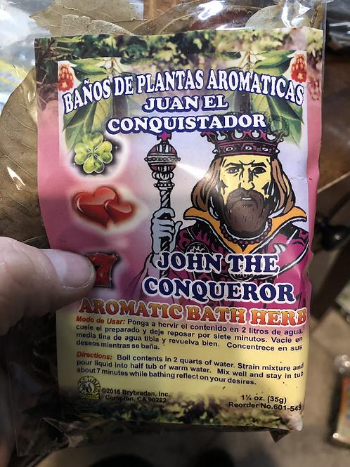John The Conqueror Herb Bath