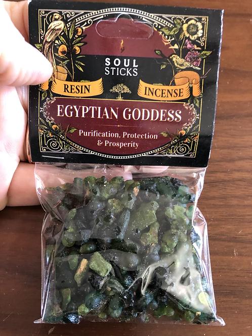 Egyptian Goddess Resin Incense