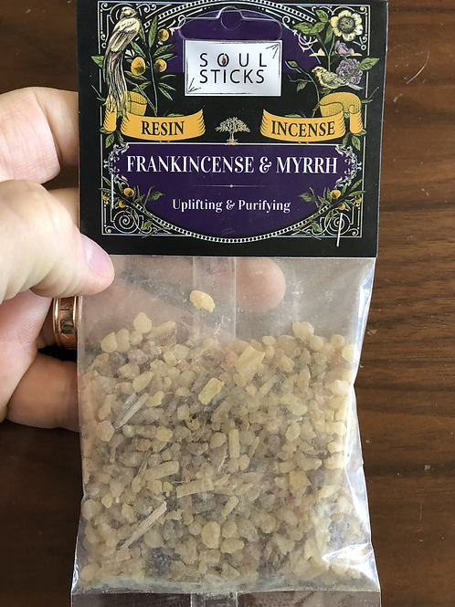 Frakncense & Myrrh Resin Incense