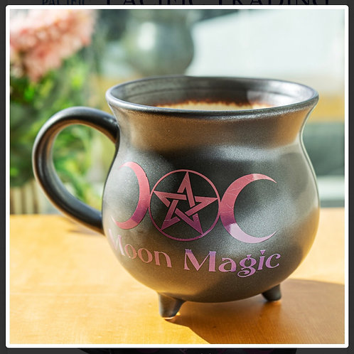 Moon Magic Cauldron Mug