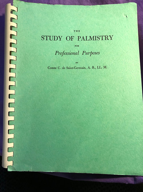 Study of Palmistry for Profession Purposes