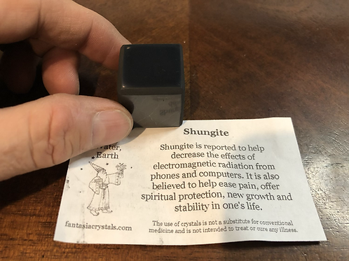 "Shungite Cube 1"""