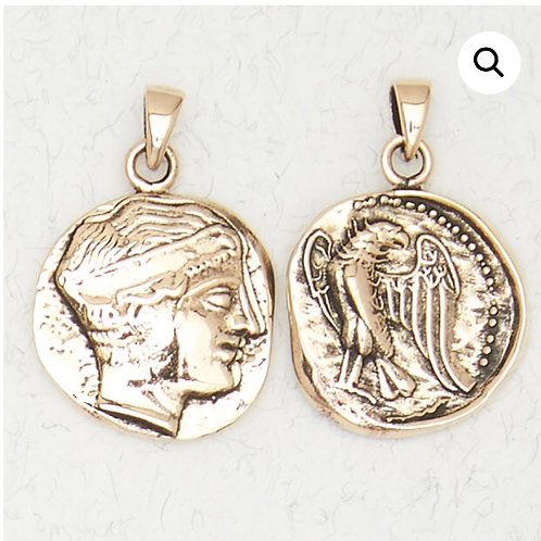 Bronze Hera Pendant