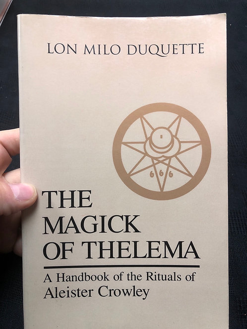 The Magick of Thelema- hard to find