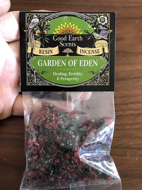 Garden of Eden Resin Incense
