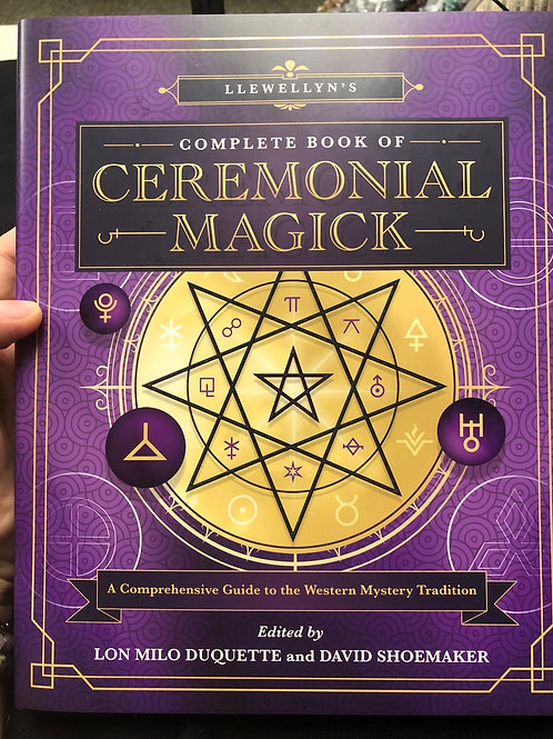 Complete Book of Ceremonial Magick (hard cover)