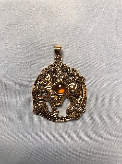 Odin & Amber Pendant