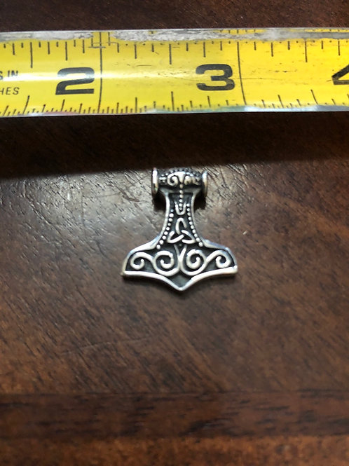 Thor's Hammer Pendant (sm) SOP114