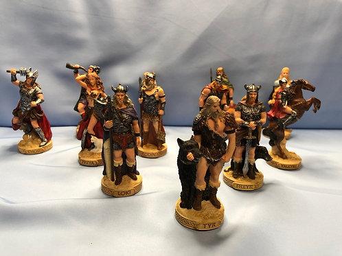 Norse Deity Pick Out of 12 Mini Statue