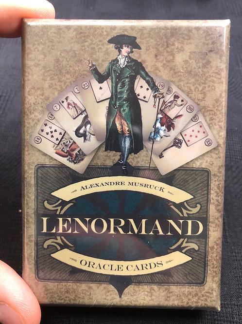 Lenormand Oracle Cards (Alexandre Musruck)