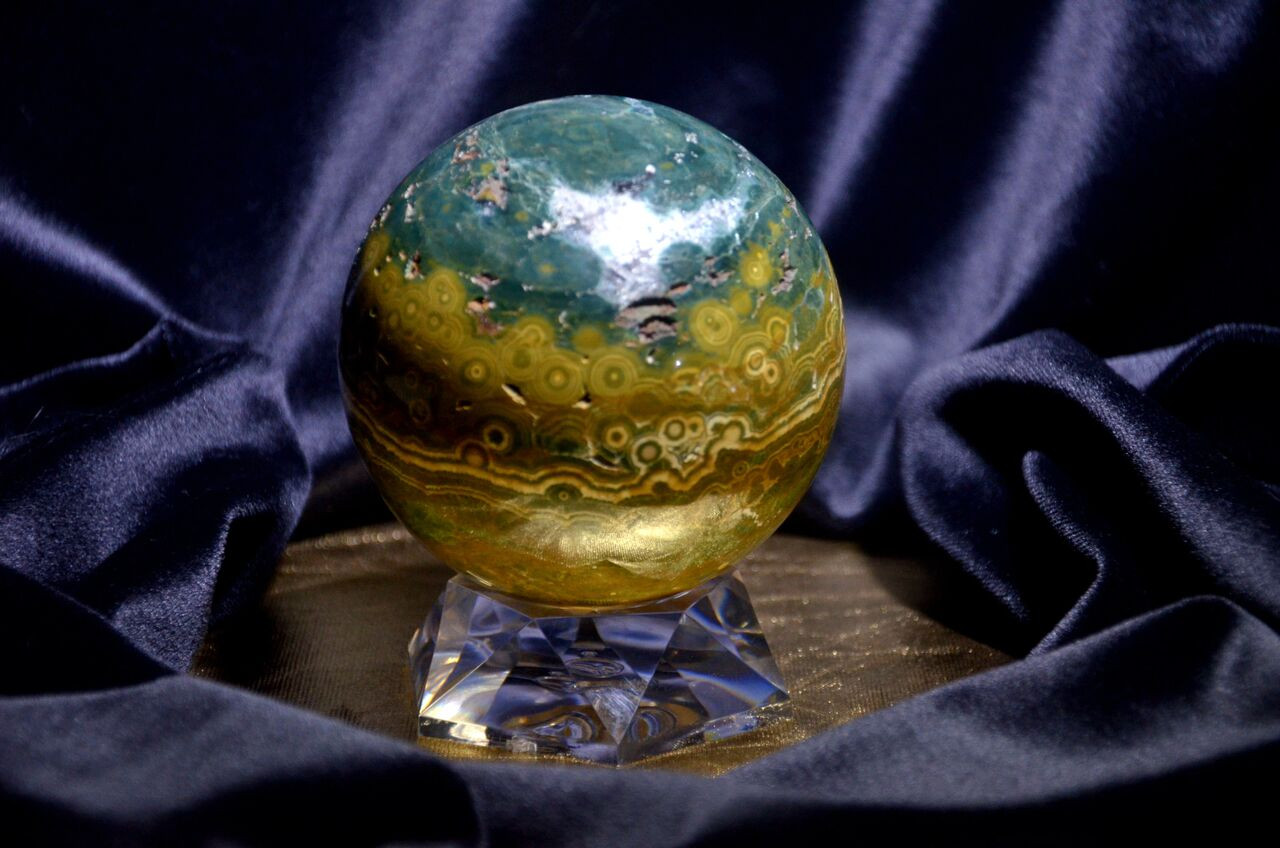 Beautiful Gemstone Sphere