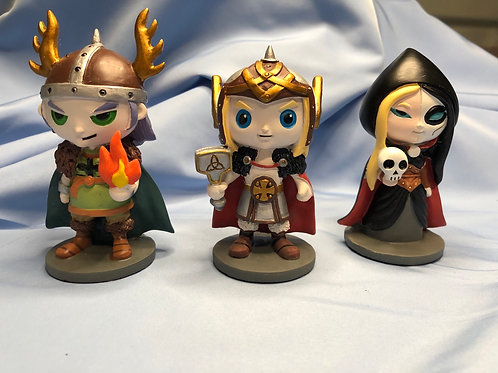 Norse Mini Statues (Norsies) pick your favorite