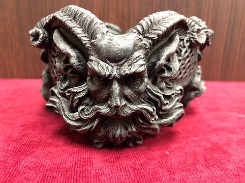 Pan (horned god) ashtray/ offering dish